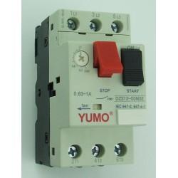 Automatyczny wyłącznik silnikowy 0,63A - 1A 0,25kW