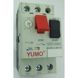 Automatyczny wyłącznik silnikowy 1A - 1,6A  0,37kW 0,55kW