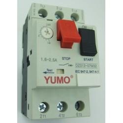 Automatyczny wyłącznik silnikowy 1,6 - 2,5A 0,75kW