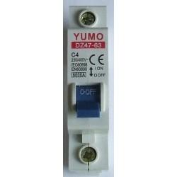 Wyłącznik różnicowo-prądowy 1P C4A