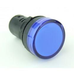 Lampka kontrolna 110V AC niebieska