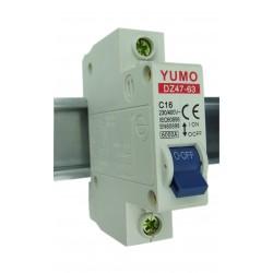 Wyłącznik nadmiarowo-prądowy 1P C16A