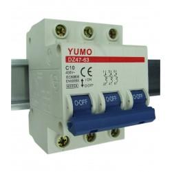 Wyłącznik nadmiarowo-prądowy 3P C10A
