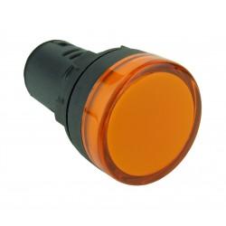 Lampka kontrolna 24V DC zółta