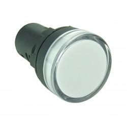 Lampka kontrolna 110V AC biała