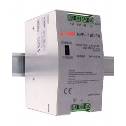 Zasilacz przemysłowy 24V DC na szynę DIN