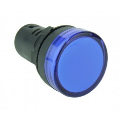 Lampka kontrolna 12V DC niebieska