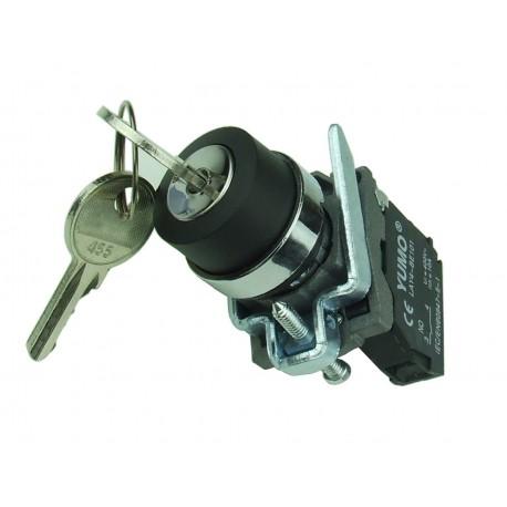 Stacyjka przełącznik kluczykowy 2 pozycyjny 1xNO