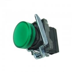 Lampka kontrolna zielona 24V DC