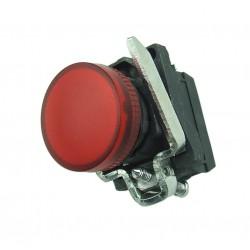 Lampka kontrolna czerwona 24V DC