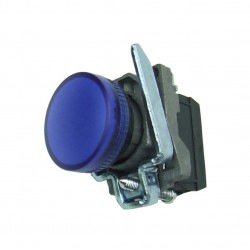 Lampka kontrolna niebieska 24V DC