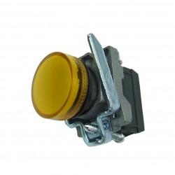 Lampka kontrolna żółta 24V DC