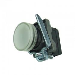 Lampka kontrolna biała 24V DC